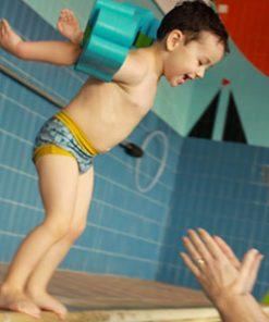 bañadores antiescapes pop in postura ranita