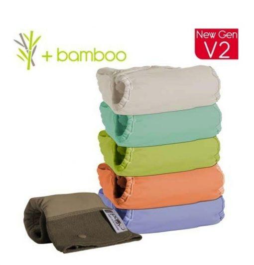 Pack 5 Pop In Bambú Pastel