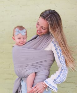 Boba Wrap Bamboo Light Grey