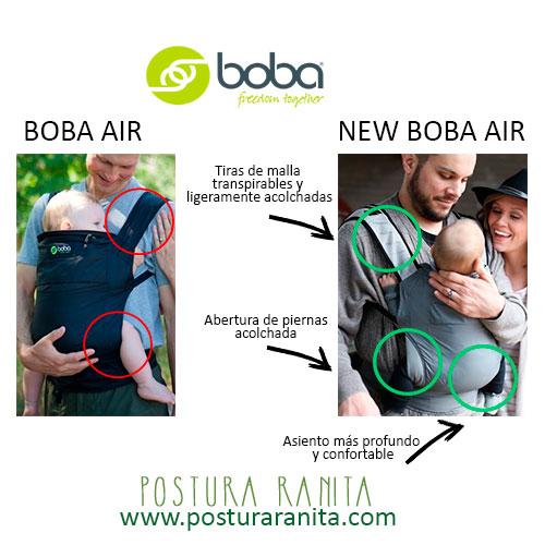New-Boba-Air-Portabebés-ligeros-postura-ranita