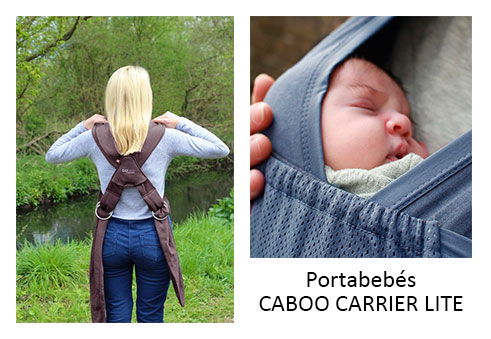 Portabebés-Caboo-Carrier-Lite-Porteo-en-verano