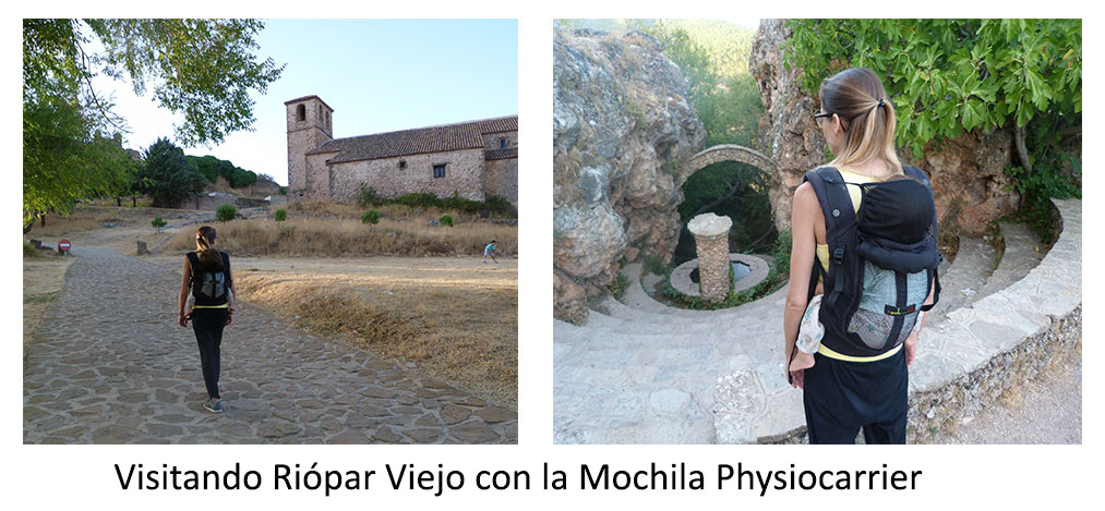 Riopar-Viejo-con-Mochila-Portabebés-Physiocarrier